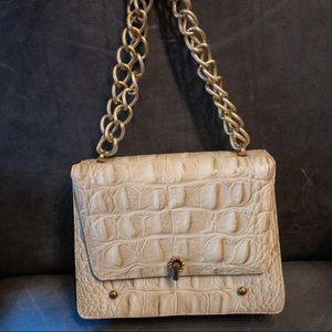 vintage snake print purse
